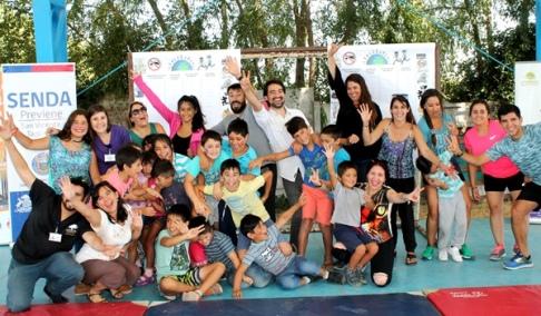 """Campaña """"Un Verano Libre de Drogas"""", siguen las actividades preventivas de SENDA en las comunas de la región"""