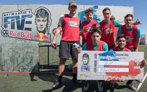 Rancagua disfrutó la primera versión del torneo internacional de fútbol calle NeymarJr'sFive