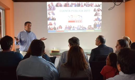 Fundación Down Somos de Rancagua, rinde cuenta pública