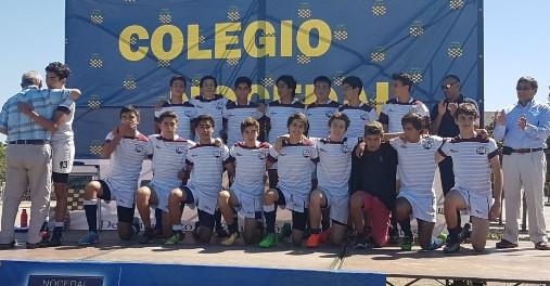 """Rugby Coya obtiene primer lugar en cuadrangular  """"Danilo Sánchez"""" de colegio Nocedal en Puente Alto"""