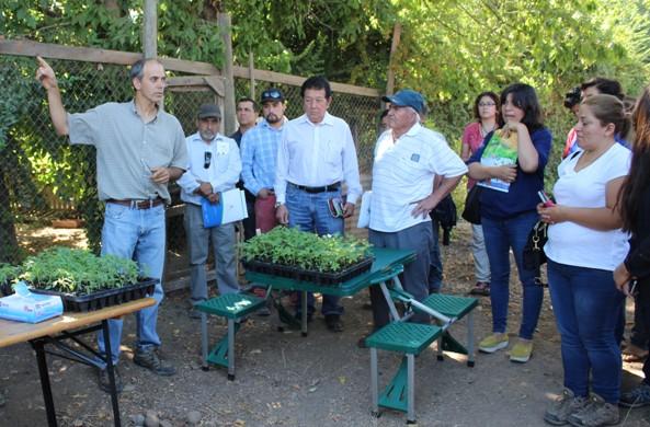 En Día de Campo muestran avances de dos proyectos hortícolas