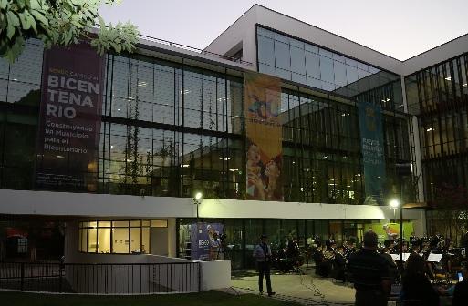 Gobierno inaugura moderno edificio consistorial en Rengo