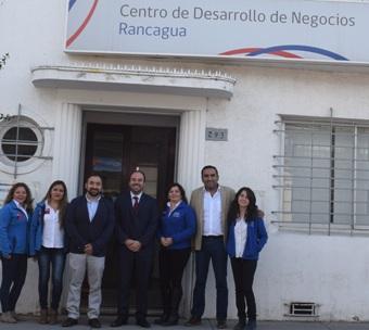 Autoridades visitan Centro de Desarrollo de Negocios Rancagua