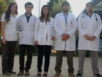 Nuevos médicos EDF se integran al Hospital Santa Filomena de Graneros