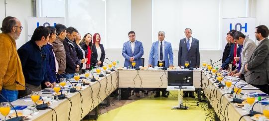 Comisión de Educación del Consejo Regional sesiona en Campus Rancagua y reafirma espíritu de colaboración con la UOH