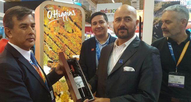 Destacada participación de O'Higgins en feria de turismo World Travel Market Latam Brasil 2018