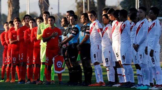 La Roja Sub 17 derrotó a Perú y obtuvo la Copa Ciudad Capital