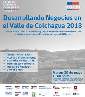 Desarrollando Negocios en el Valle de Colchagua 2018