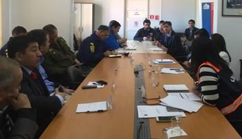 CGE participa en mesa técnica liderada por Intendente y ONEMI