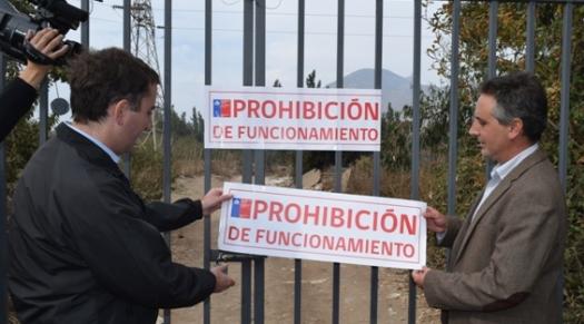"""En Rancagua SEREMI de Salud clausura botadero ilegal """"El Rabanal"""""""