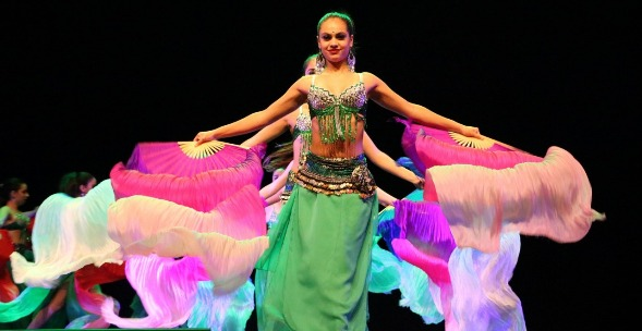 Más de 150 bailarines celebraron el Día de la Danza con la SEREMÍA de las Culturas