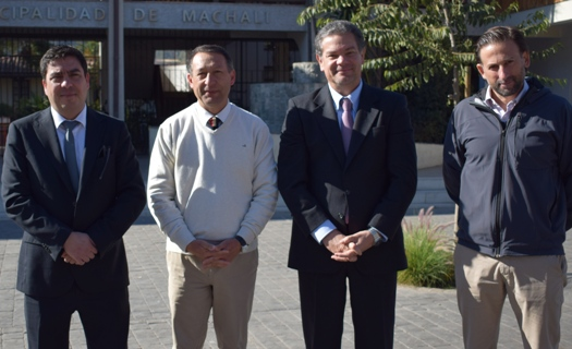 SMA firma convenio de colaboración con la Municipalidad de Machalí