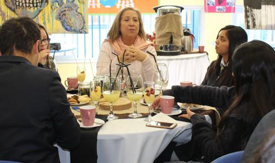 INJUV O'Higgins realizó el segundo desayuno público