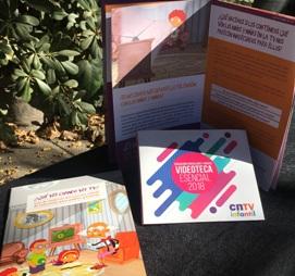 Niños de la red SENAME reciben material didáctico del CNTV O'Higgins
