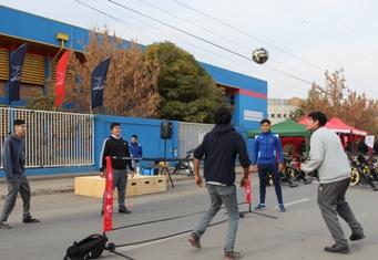 Escolares participaron en feria deportiva y ciudadana