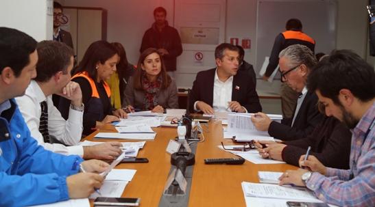 ONEMI O'Higgins puso a prueba a integrantes del Comité Regional de Operaciones de Emergencia