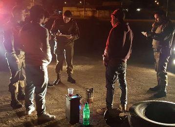 Carabineros desplegó un gran operativo policial