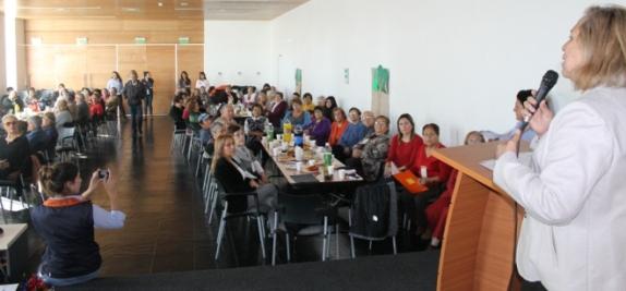 Realizan encuentro de Integración y Bienvenida del programa Vínculos para adultos mayores de Rancagua