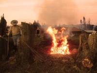 Alerta ambiental producto del humo generado por quema en la comuna de Santa Cruz