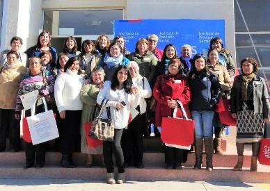IPS acerca los derechos previsionales a mujeres rurales de Navidad