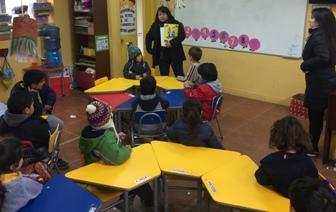 SENDA Previene Pichilemu realiza talleres de cuenta cuentos en el mes de la prevención