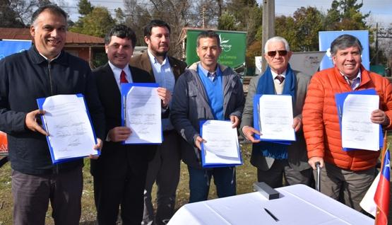5 municipios firman convenio de colaboración para gestionar extensión de Metrotren