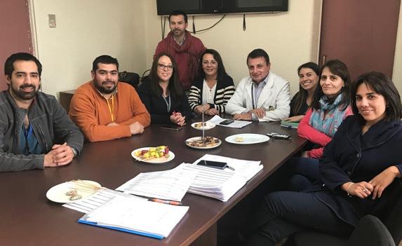 Unidad Pre-Quirúrgico busca mejorar procesos conociendo experiencia en Hospital Sótero del Río