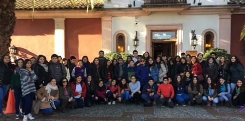 Consejo de la Infancia de O'Higgins realizó visita cultural por el Día del Patrimonio