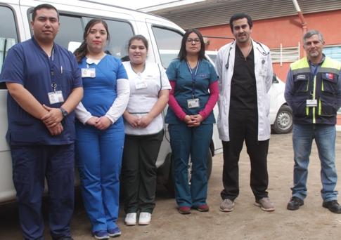 Programa de pacientes postrados del Hospital Pichidegua  mejora  calidad de vida de sus usuarios