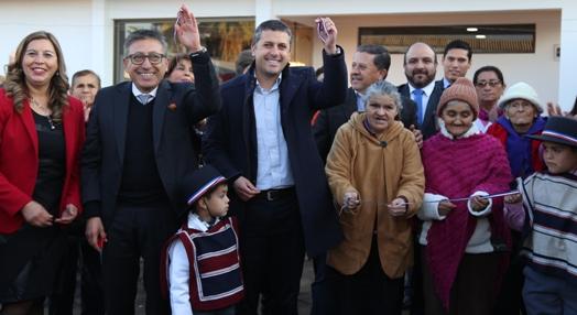 Intendente Masferrer inaugura en Pichidegua ampliaciones de Casa de Acogida y una nueva Sede Social