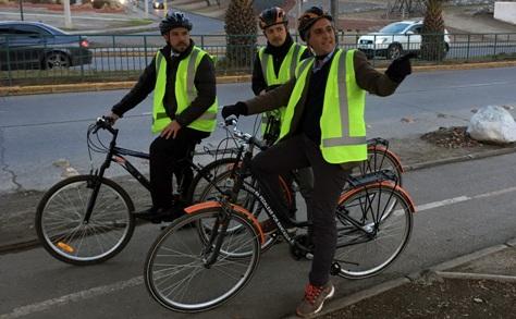 SEREMI de Vivienda y Urbanismo recorrió ciclovías de Rancagua para comprobar en terreno su utilidad