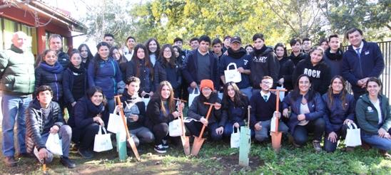 Fundación Reforestemos inicia en Paredones ciclo de Jornadas de Educación Ambiental con apoyo de CGE