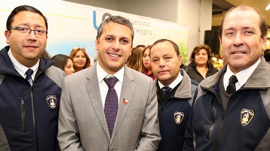 """Presidente de Bomberos: """"Si no fuera por el apoyo del Gobierno Regional no sería posible todo lo que tenemos"""""""