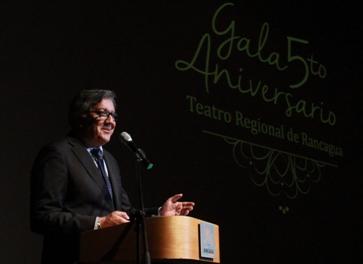 Teatro Regional de Rancagua celebró su quinto aniversario