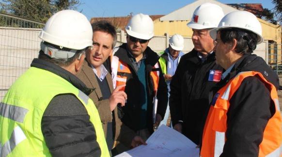 Construcción nudo vial Ruta 5 -Miguel Ramírez el aporte del MOP a la Vialidad Urbana