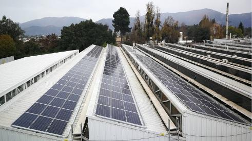 SEREMI de Energía de la Región de O'Higgins destaca proyecto fotovoltaico de Fábrica Nestlé en San Fernando