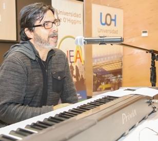 Reconocido compositor nacional dictó clase magistral en la UOH