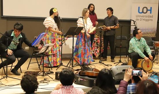"""Culminaron talleres de """"Músicas y ritmos del Brasil"""" de la UOH"""