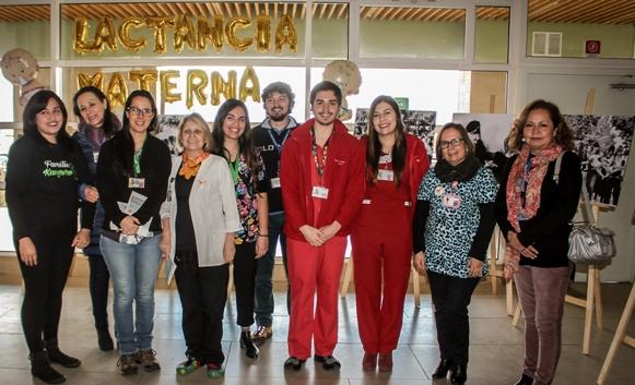 Hospital Regional conmemoró Semana Internacional de la Lactancia