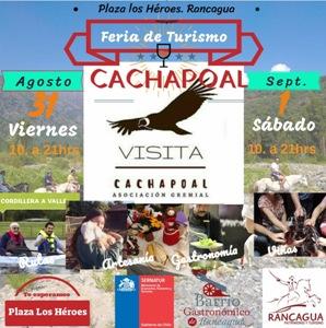 """PyMEs apoyadas por CORFO y miembros de la asociación gremial """"Visita Cachapoal"""" expondrán  sus productos en plaza Los Héroes de Rancagua"""