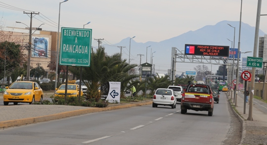 Intendente Masferrer anunció que este año se iniciarían obras de nueva vía Rancagua-Machalí