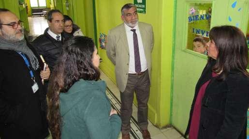 Autoridades del Servicio de Salud O'Higgins abordan acreditación de parvularios