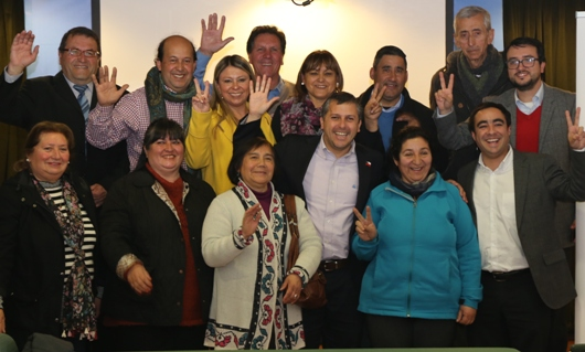 Intendente Masferrer se reúne con dirigentes vecinales de todo O'Higgins