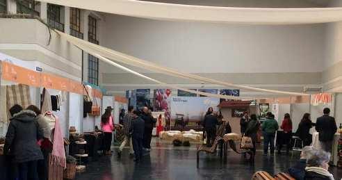 La primera Expo Artesanía del valle de Colchagua se presentó en el edificio de SERNATUR, en la capital del país