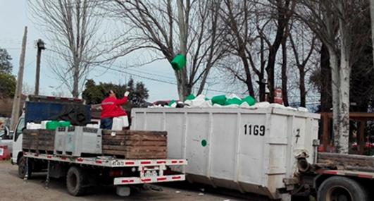 Graneros promueve manejo sustentable de envases de plaguicidas