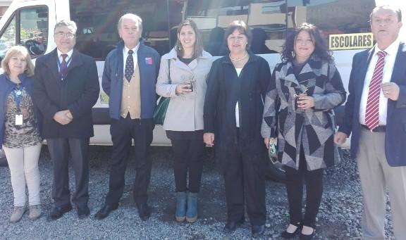 Colegios Subvencionados Rurales reciben financiamiento para transporte escolar