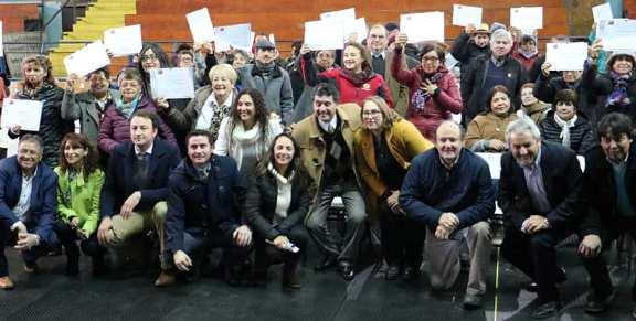 Adultos Mayores de Colchagua recibieron fondos SENAMA