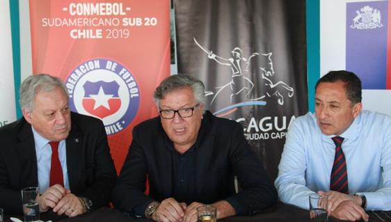 Rancagua será la sede de Chile  en el Sudaméricano de Fútbol Sub 20