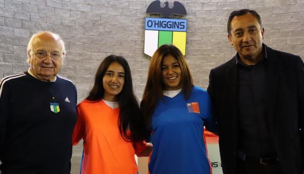 """O'Higgins """"vestirá"""" al fútbol femenino en los  Juegos Binacionales de Integración Andina"""