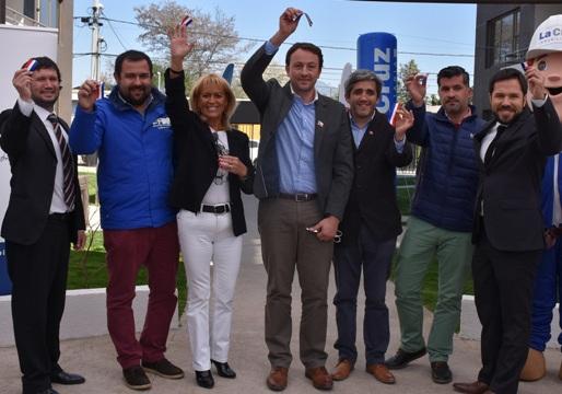 San Fernando vive la integración socialgracias al MINVUcon nuevo Condominio Doña Laura
